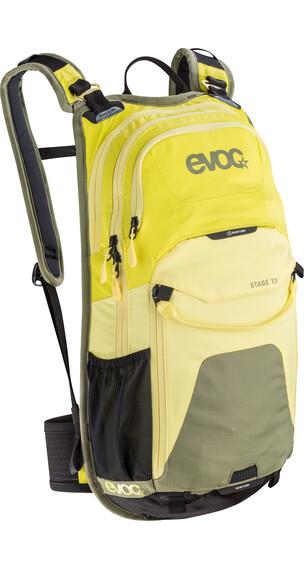EVOC Stage fietsrugzak 12 L geel/olijf